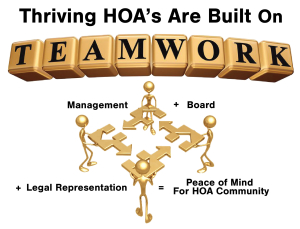 Thriving HOA's Are Built On Teamwork